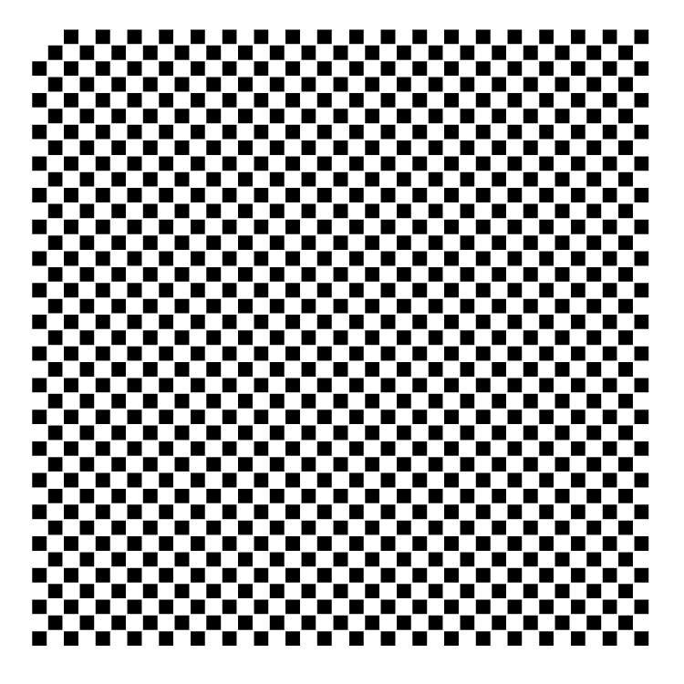 """1/4"""" Checks Pattern Stencil - 12"""" x 12"""""""