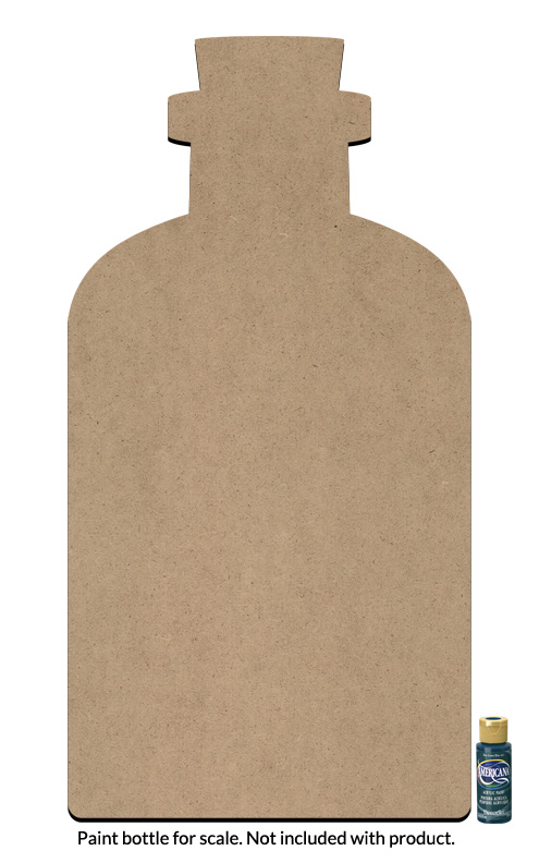 "Apothecary Bottle Surface - Jumbo - 29"" x 15"""