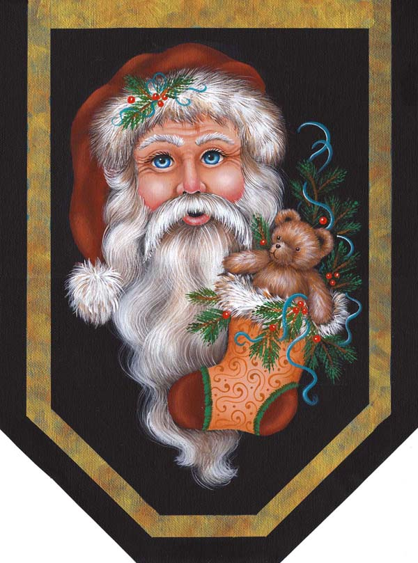 Santa & Teddy - E-Packet - Jill Fitzhenry