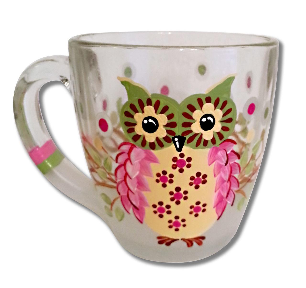 Owl Coffee Cup - E-Packet - Jill Fitzhenry