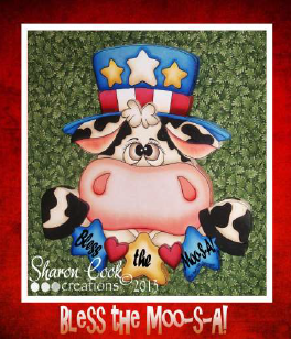 Bless the Moo-S-A! - E-Packet - Sharon Cook