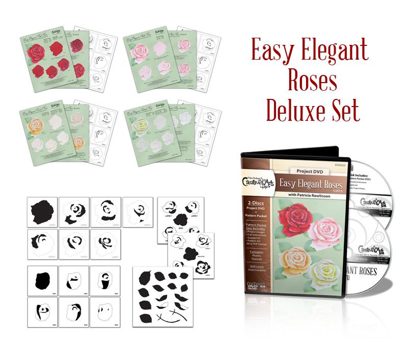 Easy Elegant Rose Deluxe Set