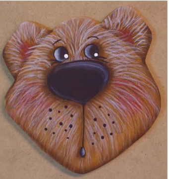 Bear Ornament or Pin Kit E-packet - Betty Bowers