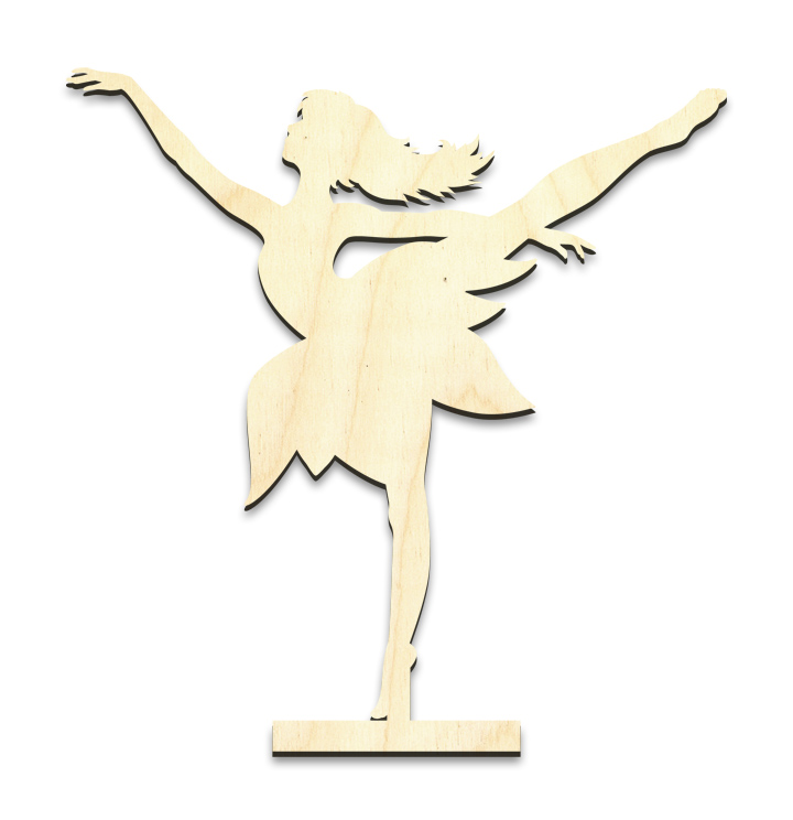 "Dancing Fairy Figure Standing Surface - Small - 5-3/8"" x 5-1/2"""
