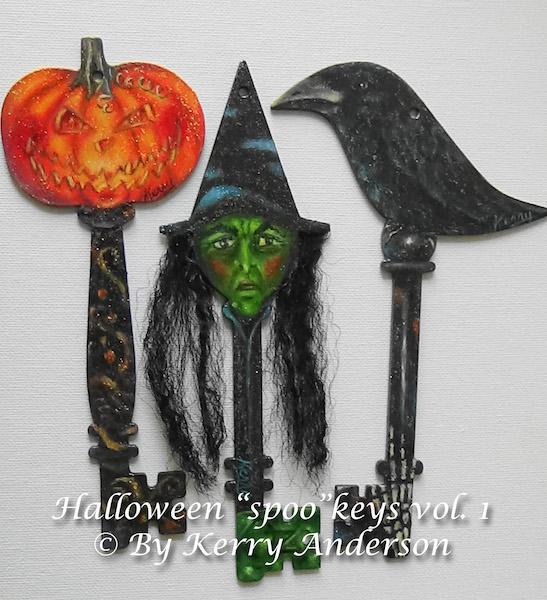 "Halloween ""Spoo"" Keys Vol. 1 - E-Packet - Kerry Anderson"