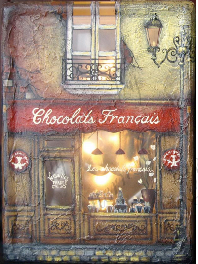 Chocolats Francais Glass Block E-packet - Holly Hanley