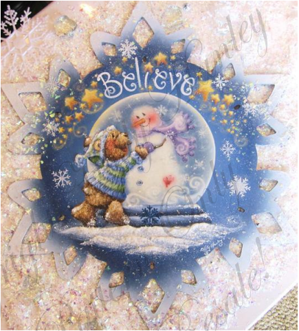 Believe Snowflake E-packet - Holly Hanley