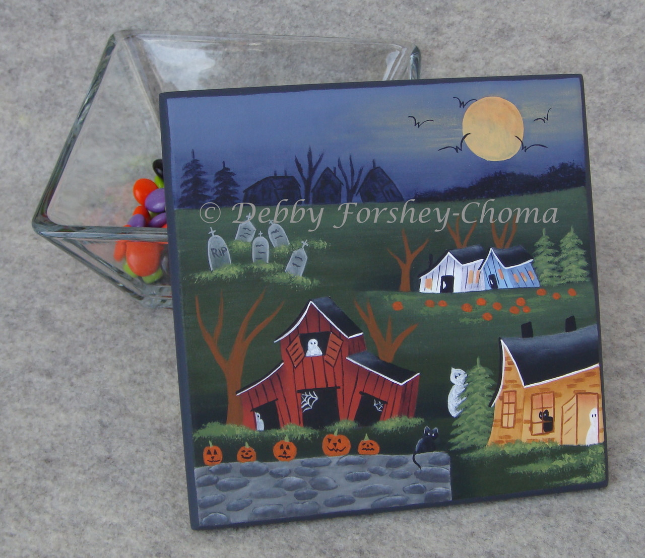 A Haunting Halloween - E-Packet - Debby Forshey-Choma