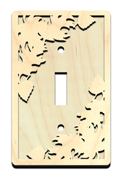 Autumn Leaf Light Switch Cover
