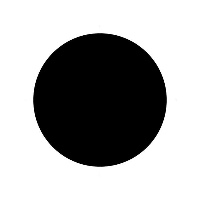 Circle Template Stencil - 6 inches