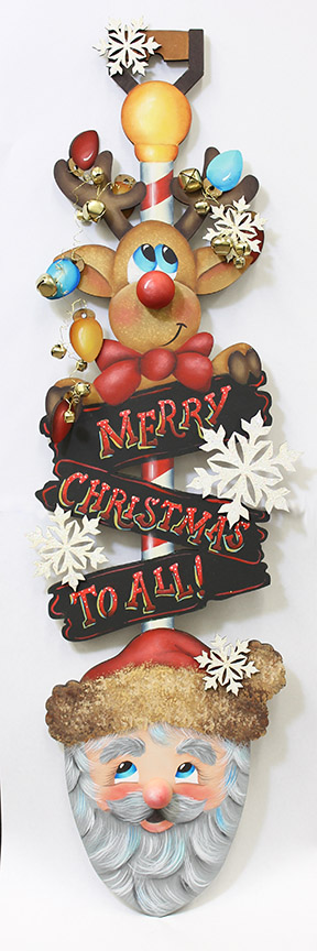 Merry Christmas Shovel DVD and Pattern Packet - Patricia Rawlinson