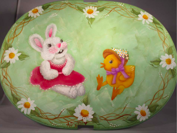 Easter Basket Lid - E-Packet - Ann Perz