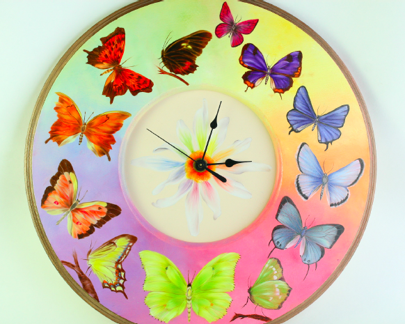 Butterfly Clock E-packet - Debra Welty