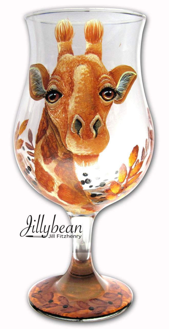 Giraffe Glass - E-Packet - Jill Fitzhenry
