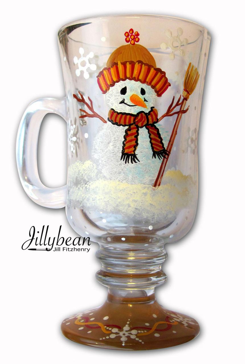 Snowman Mug - E-Packet - Jill Fitzhenry