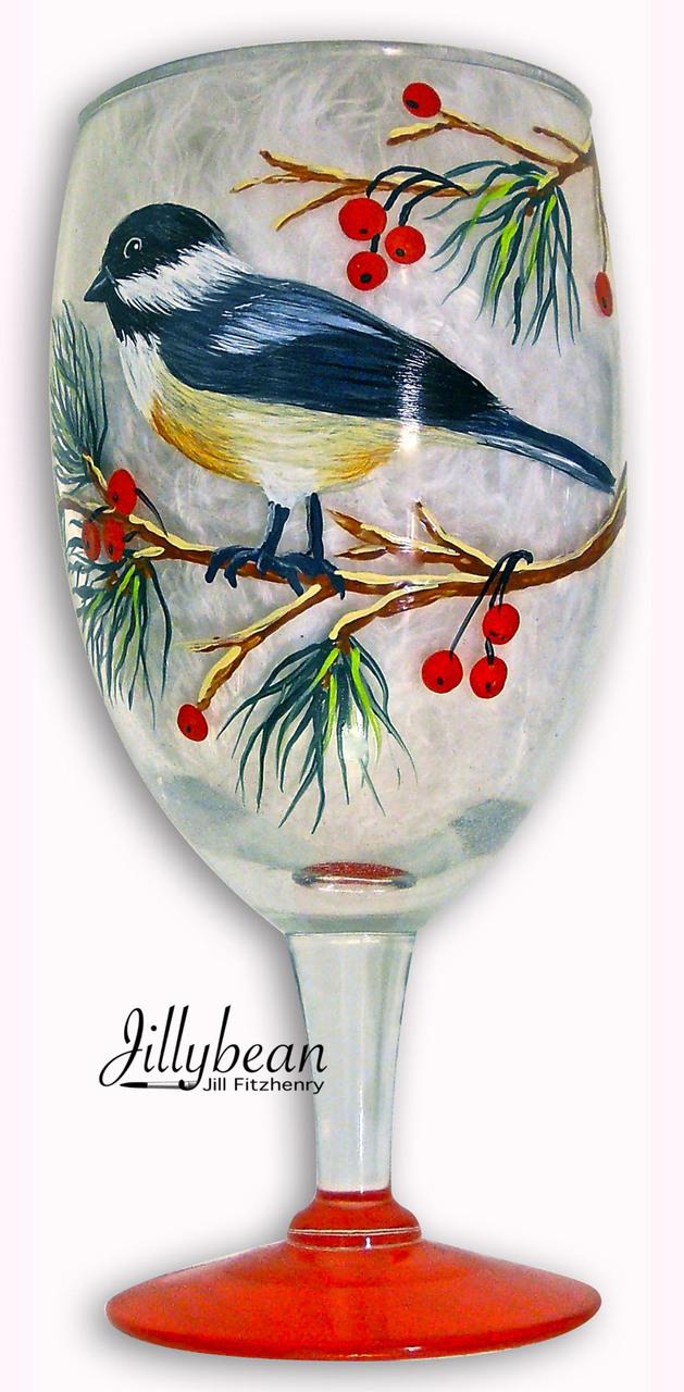 Chickadee Glass - E-Packet - Jill Fitzhenry