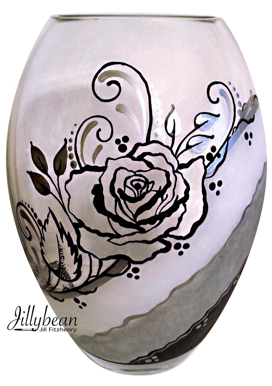 Rose Vase - E-Packet - Jill Fitzhenry