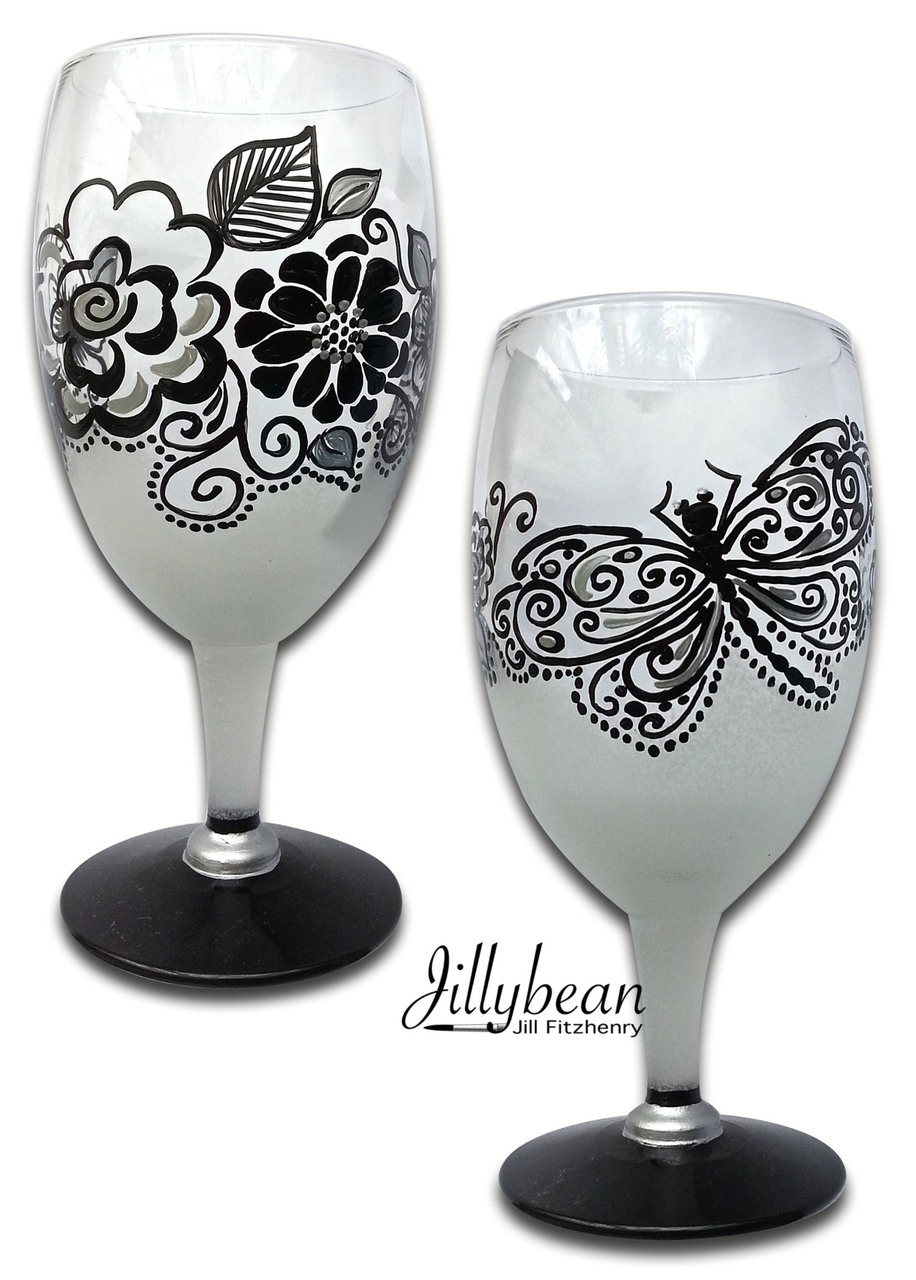 Black & White Glasses - E-Packet - Jill Fitzhenry
