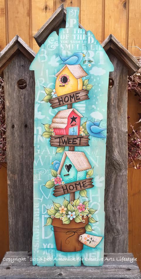 Home Tweet Home - E-Packet - Deb Antonick