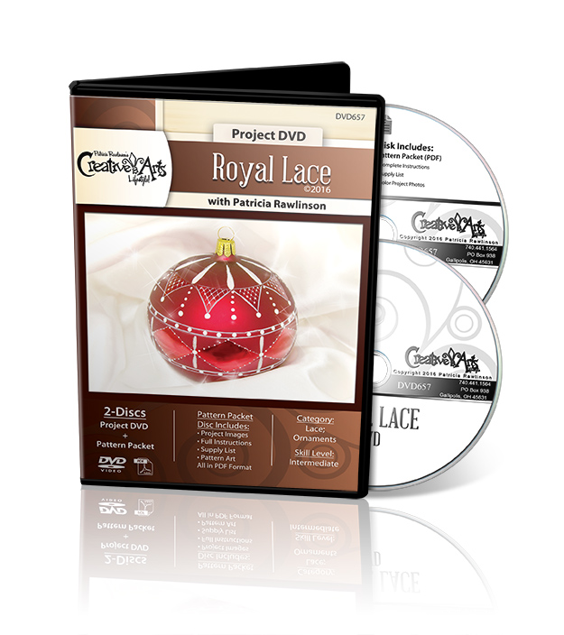 Royal Lace - DVD and Pattern Packet - Patricia Rawlinson