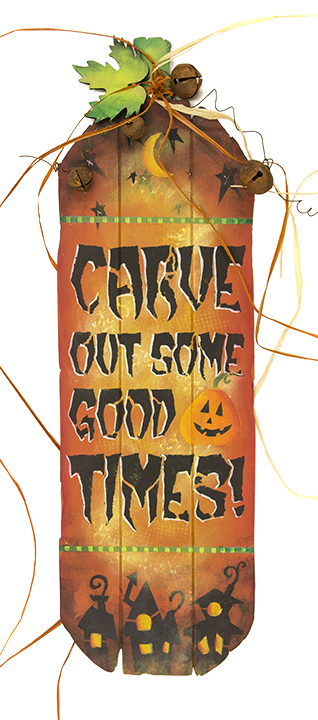 Carve Out Some Good Time - Pattern Packet by Patricia Rawlinson