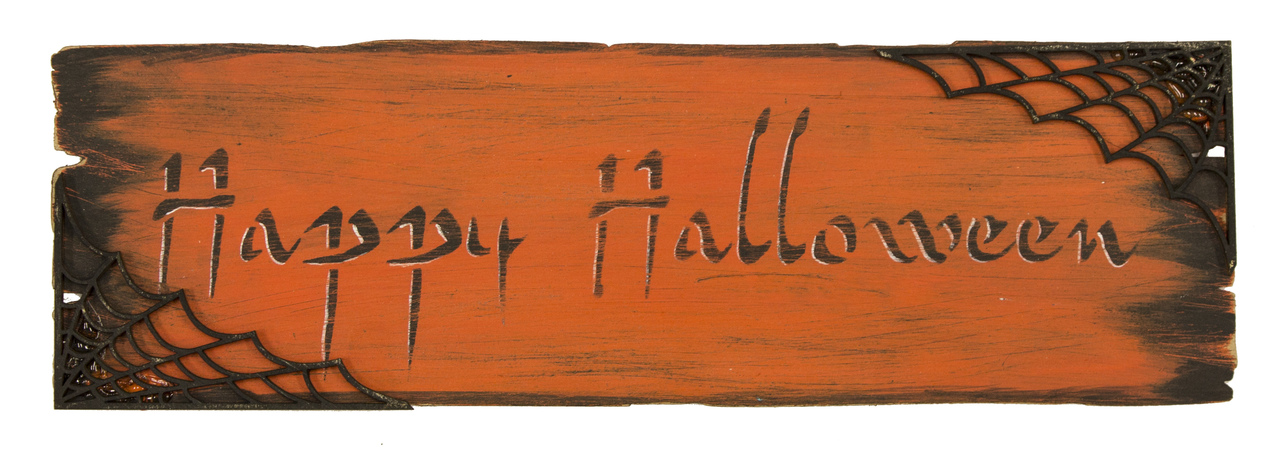 Rustic Halloween Plaques - E-Packet - Patricia Rawlinson