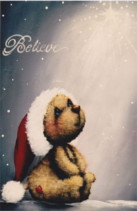 Believe Christmas Star Bear - E-Packet - Holly Hanley