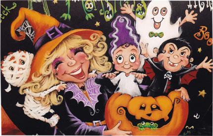 Beware!! Pumpkin E-packet - Holly Hanley