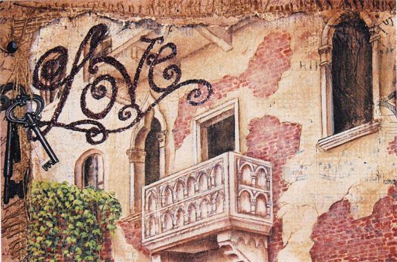 Love...Romeo & Juliet Balcony - E-Packet - Holly Hanley