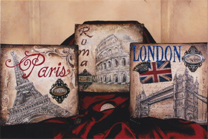 London, Rome & Paris E-packet - Holly Hanley