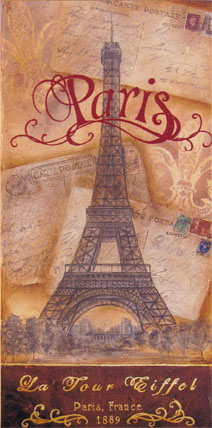 Postcards From Paris E-packet - Holly Hanley