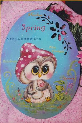 Spring Showers Owl E-packet - Holly Hanley
