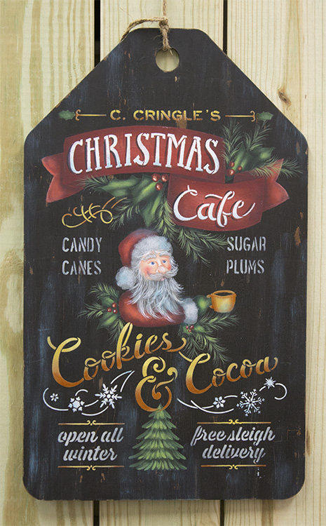 Christmas Cafe - DVD and Pattern Packet - Patricia Rawlinson