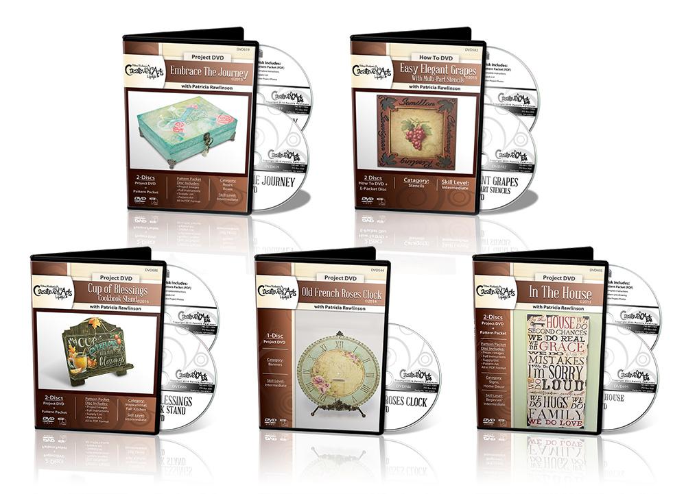 Stencil Technique Project DVD Set