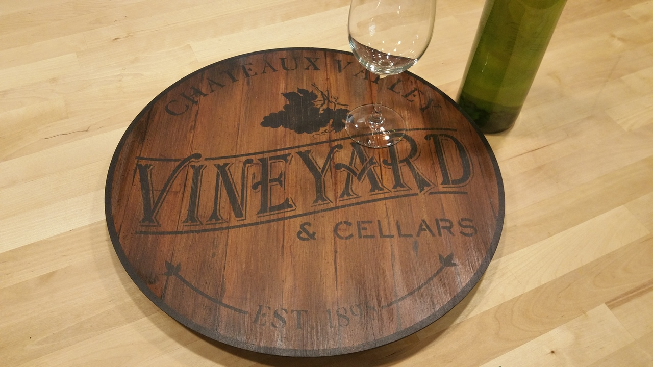 Vineyard Lazy Susan - E-Packet - Patricia Rawlinson