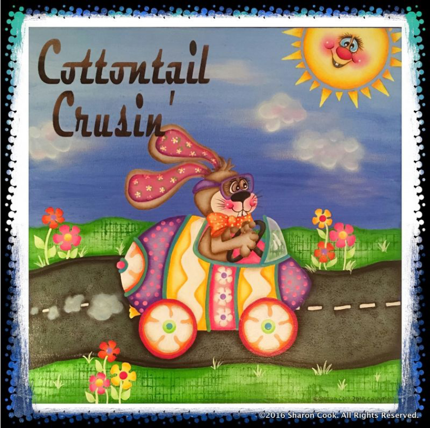 Cottontail Cruisin'  E-packet - Sharon Cook