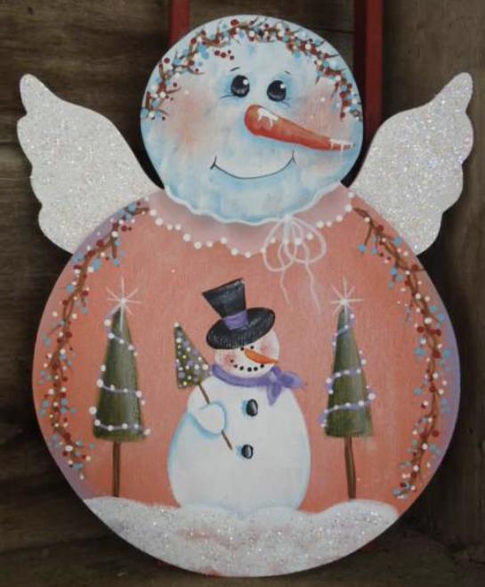 Three Snowy Angels E-Packet - Betty Bowers