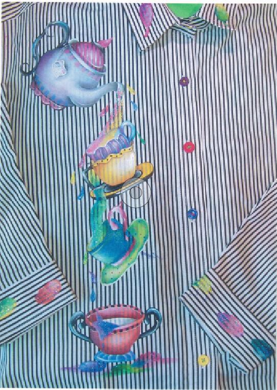 Painter's Tea Party - E-Packet - Janice Miller