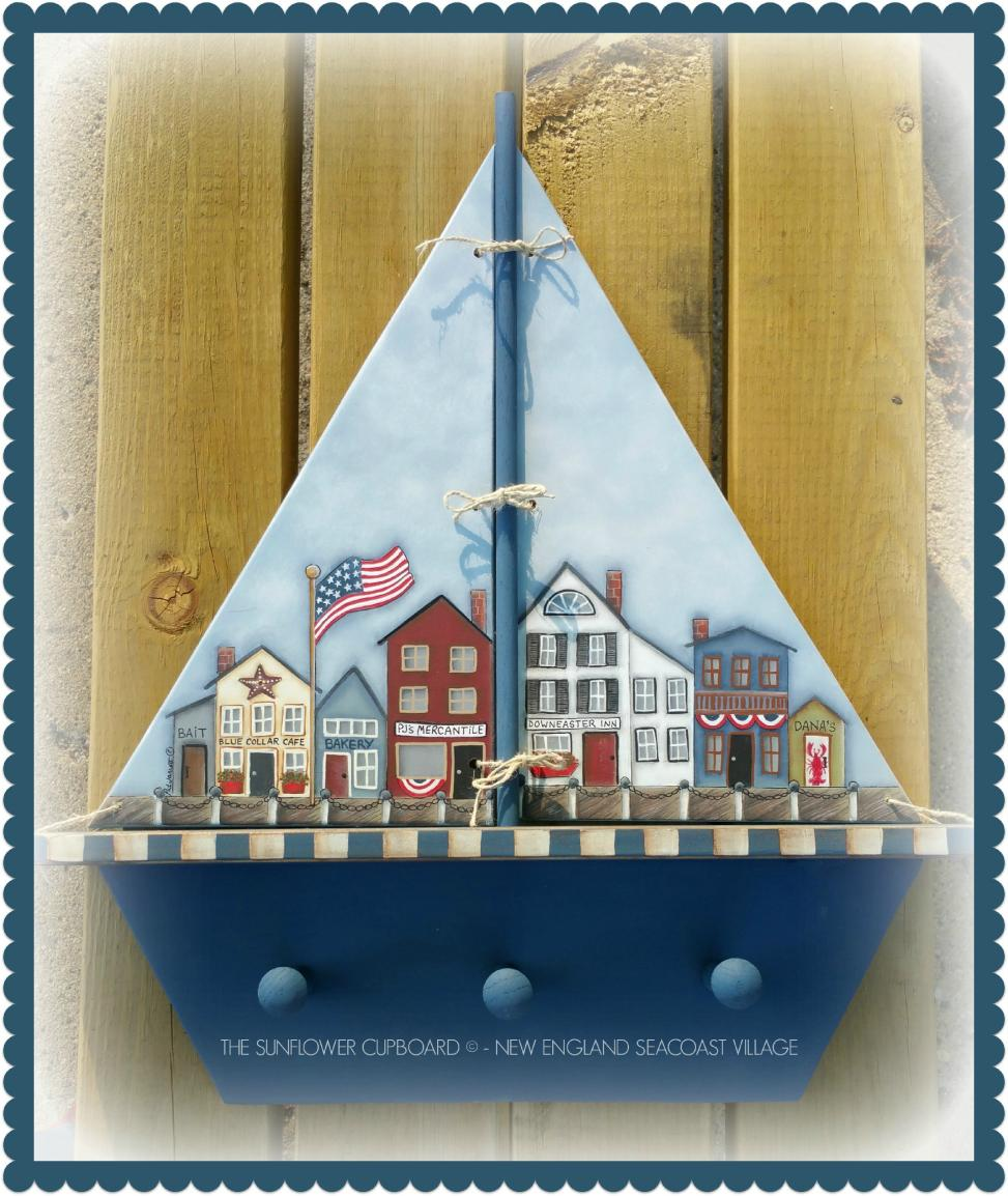 New England Coastal Village - E-Packet - Pat Jarrett