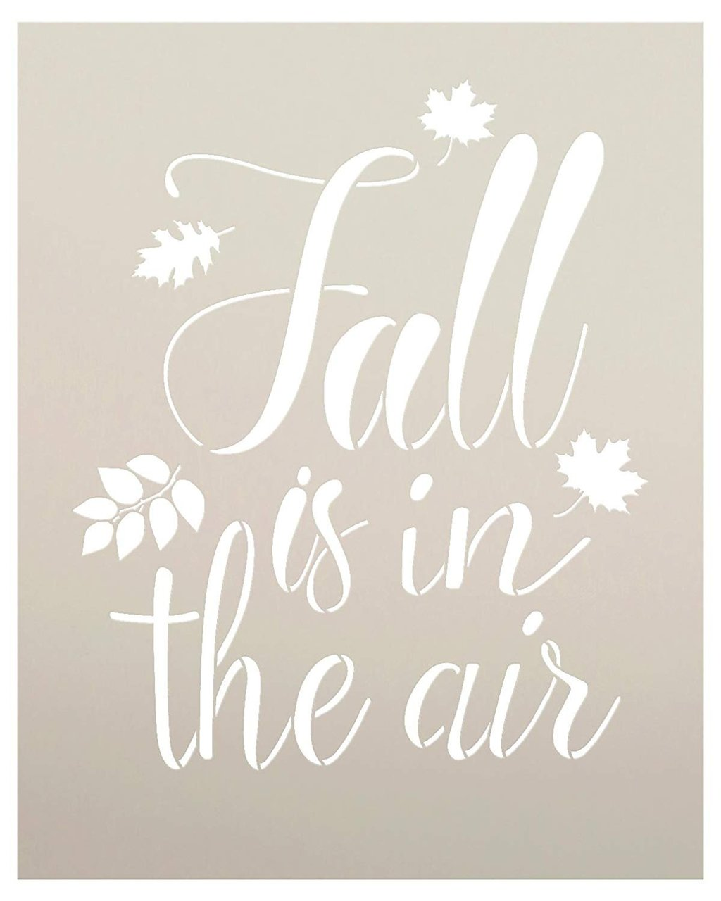 Fall is in the air stencil by studior12 script letters reusable fall is in the air stencil by studior12 script letters reusable word template for spiritdancerdesigns Images