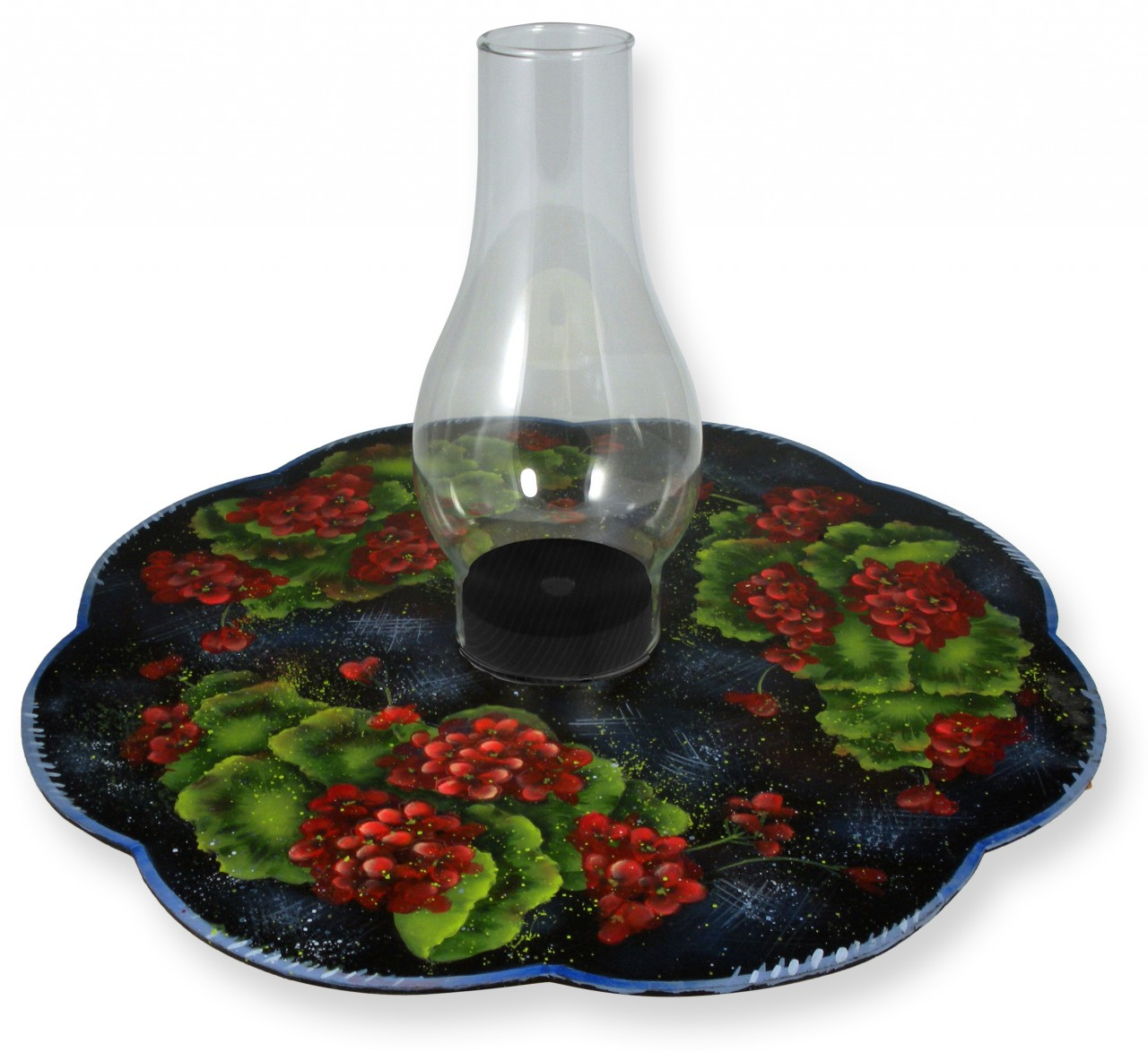 Geraniums Lazy Susan - E-Packet - Patricia Rawlinson