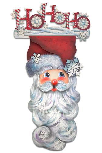 Ho Ho Ho Santa Banner E-Packet - Patricia Rawlinson