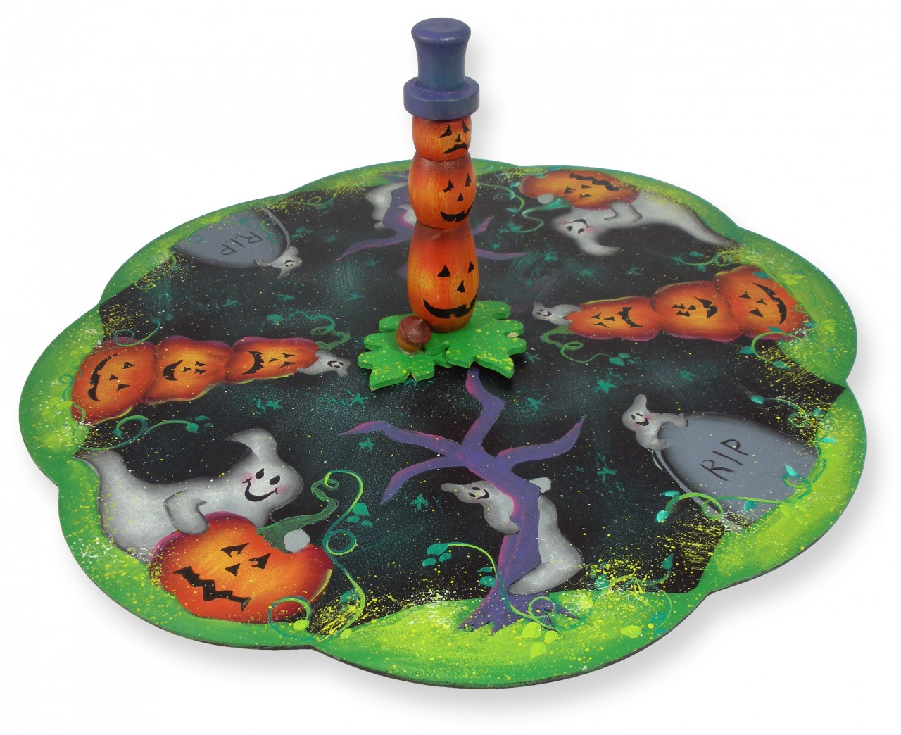 Halloween Lazy Susan DVD & Pattern Packet - Patricia Rawlinson
