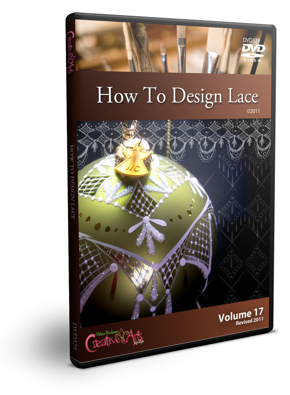 How to Design Lace DVD & Pattern Packet - Patricia Rawlinson