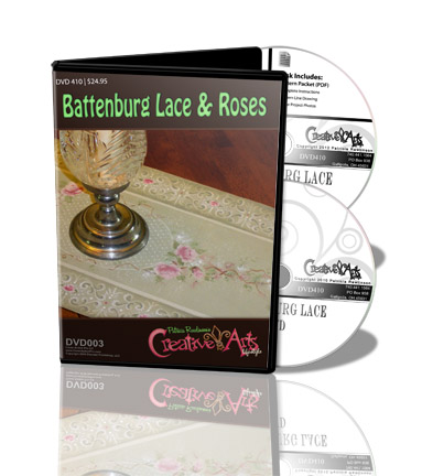 Battenburg Lace and Roses DVD & Pattern Packet - Patricia Rawlinson