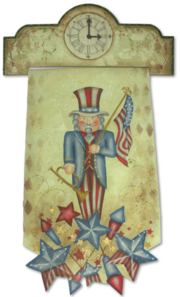 Patriotic Nutcracker DVD & Pattern Packet - Patricia Rawlinson