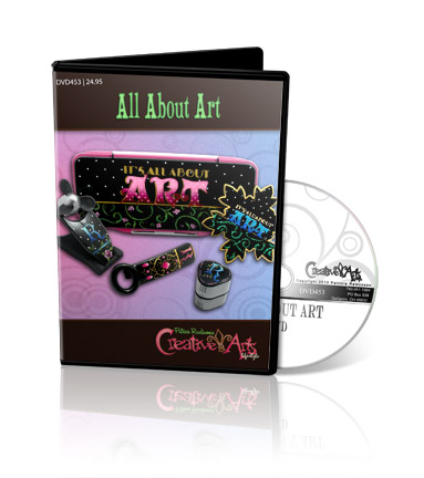 It's All About Art Set DVD & Pattern Packet - Patricia Rawlinson