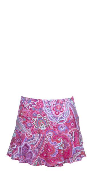 Pink Paisley Skirt
