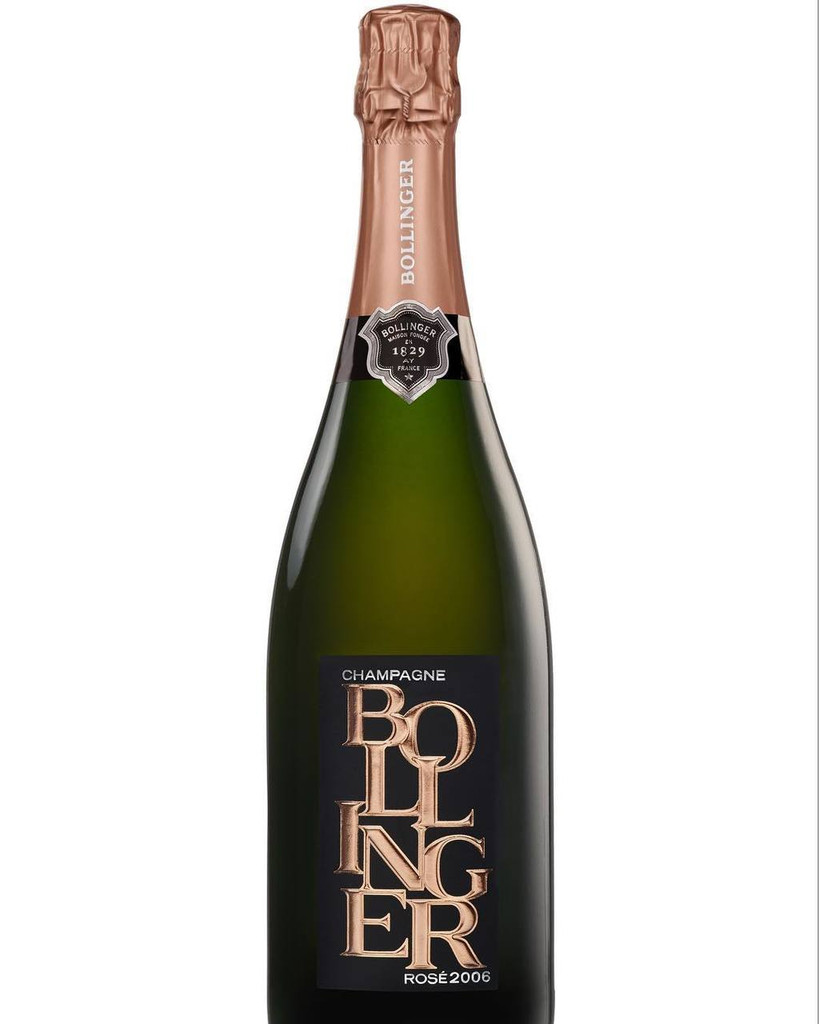 Bollinger Rose Champagne Special edition 2006