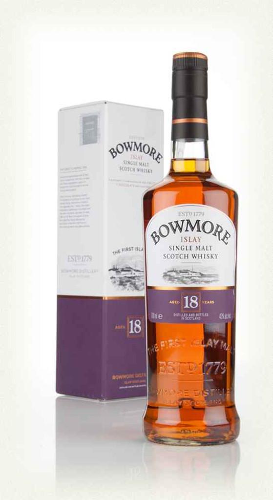 Bowmore Single Malt Scotch 18 Year Old
